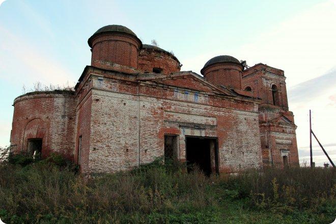 Церковь Иконы Божией Матери Казанская в Шапши (63.11КиБ)